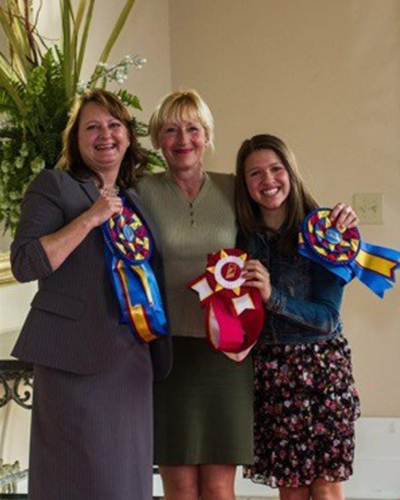 Dressage students celebrate awards